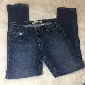 Gap skinny stretch jeans size 8 distressed